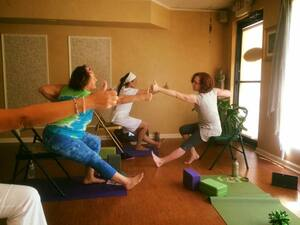 Chair Yoga with Ileana Yoga